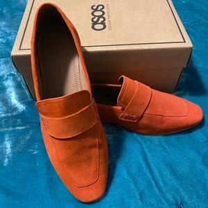 ASOS Loafers Tomato Red Size 11